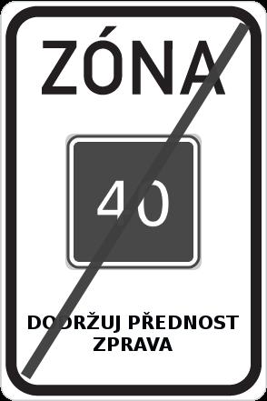 Ukončení zóny